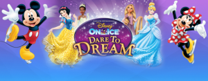Dare to Dream with Disney On Ice at the Resch Center February 10th-14th