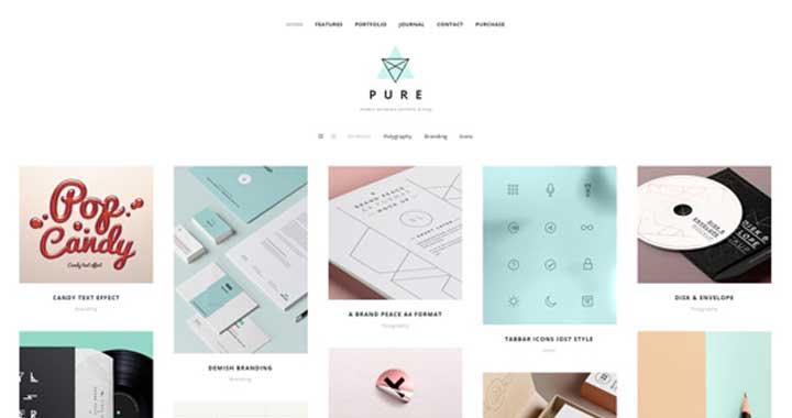 Portfolio Themes Wordpress 2015 Wordpress Portfolio Themes