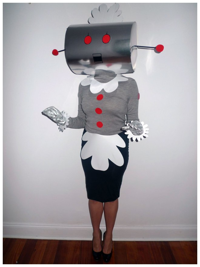 Rosie the Robot from The Jetsons Costume