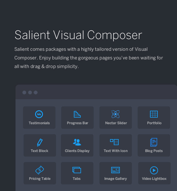 visual composer salient