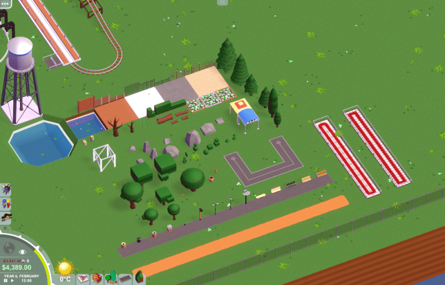 Parkitect Scenery