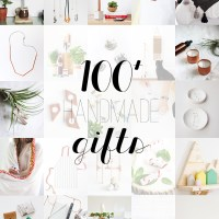 100+ Handmade Gift Ideas