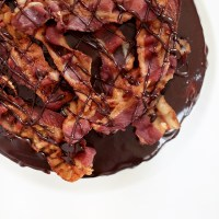 Maple Bacon Chocolate Cake