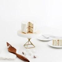DIY Modern Cake Stand