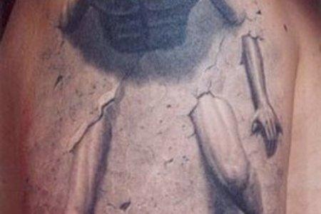 3d tatoo bicep