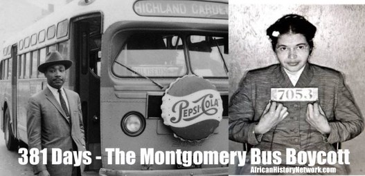 381 Days Montgomery Bus Boycott Tagged
