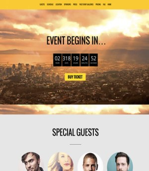 Event Page