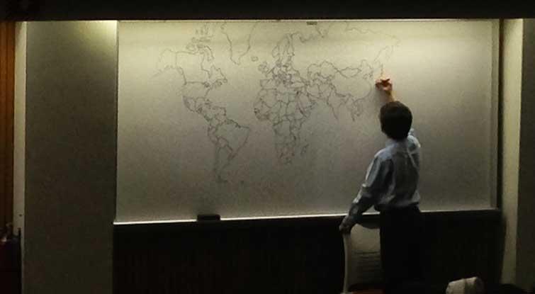 Autism world map