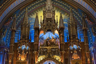 Inside The Notre Dame Of Montreal