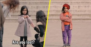 Little Girl Changes Outfits To See How Strangers Treat Her Differently. The Result Is Heartbreaking