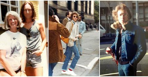 These Candid Snapshots of John Lennon on the Streets Taken by Fans From the 1970s Are Totally Awesome!