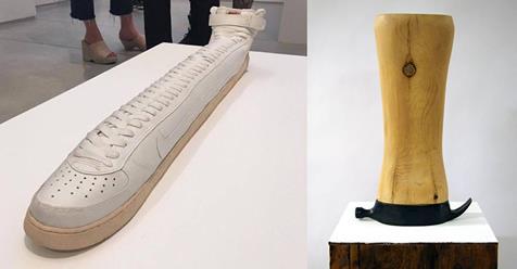 Dufala Brothers Have a Rare Possession:  Weirdly Elongated Sculptural Objects
