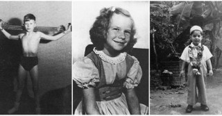 When They Were Young – 25 Rare Vintage Portraits of Famous Rock Stars When They Were Children
