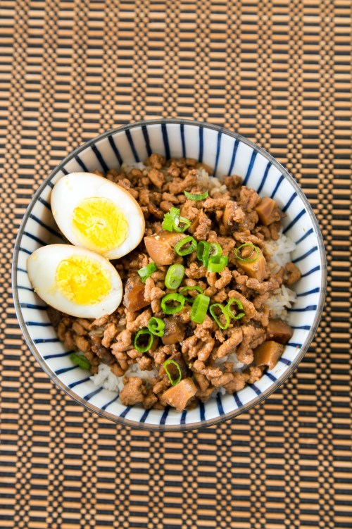 Taiwanese Minced Pork Rice2