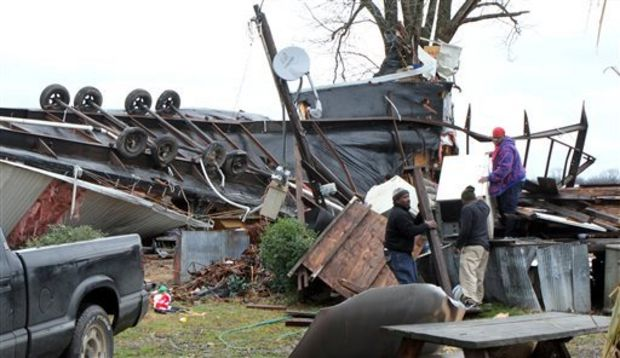 National Weather Service Confirms 5 Tornadoes Touched Down