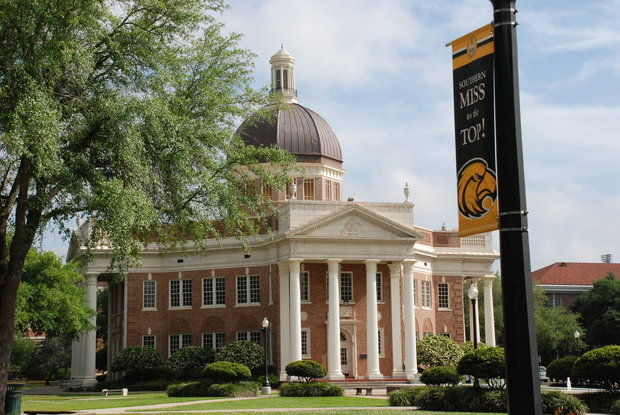 Despite welcoming the school's largest freshman class, the University of Southern Mississippi saw the total number of students fall for the fourth straight year. (File)
