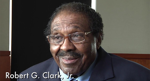 Civil rights veteran Robert Clark