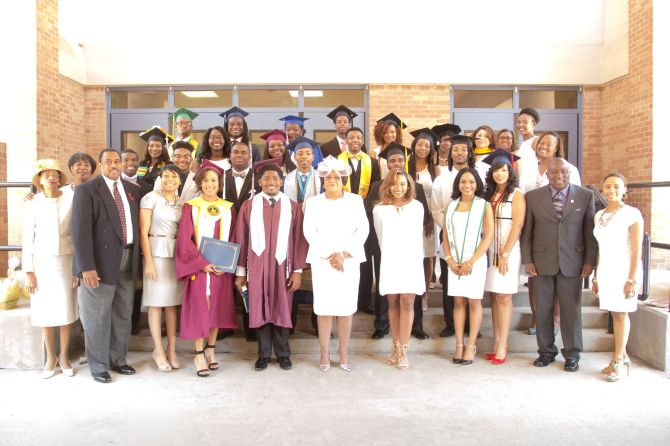 Pictured are the 2016 graduates and scholarship committee members of New Hope Baptist Church, 5202 Watkins Dr., Jackson. All graduates were honored during the church's recent Baccalaureate service. Dr. Jerry Young is the pastor.