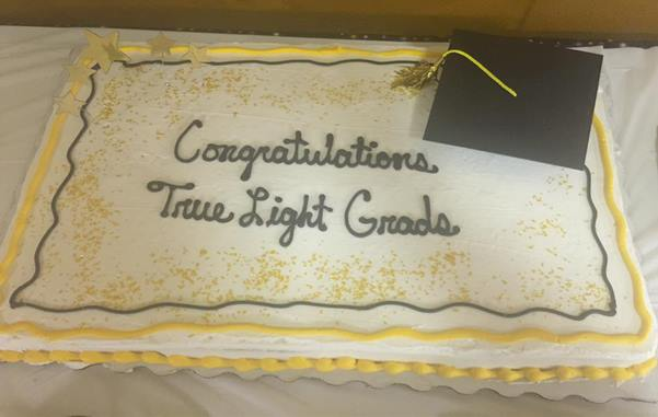 A congratulatory fellowship ended the celebration at True Light M.B. Church, 224 E. Bell St., Jackson, that honored the church's 2016 graduates during its Baccalaureate Service. The Rev. Marcus E. Cheeks is the pastor.