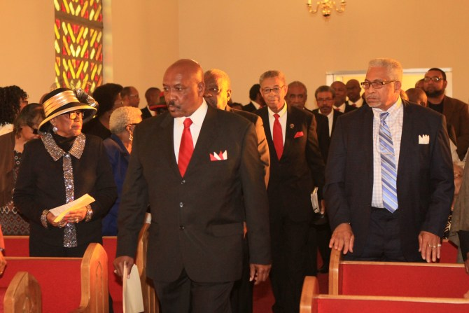 College Hill Deacons' processional