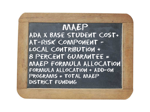 PAINFUL EQUATION: The Mississippi Adequate Education Program funding calculation is not exactly easy to figure.