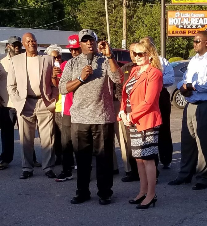 Rev. Hosea Hines of Christ Tabernacle Church calls for clergy and community to take a personal stand against violence.