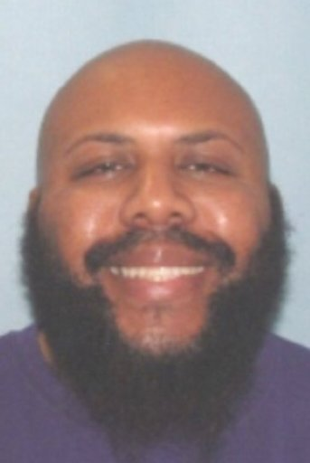 This undated photo provided by the Cleveland Police shows Steve Stephens. Cleveland police say they are searching for Stephens, a homicide suspect, who broadcast the fatal shooting of another man live on Facebook on Sunday, April 16, 2017. (Cleveland Police via AP)