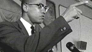 Malcolm X hor pointing