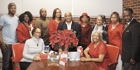 A Mississippi Link Christmas celebration with Lonnie Ross front and center.