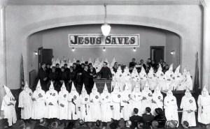 Jesus Saves KKK hor