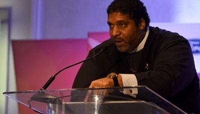 Reverend William Barber II, president of the North Carolina state chapter of the NAACP, delivered an electrifying speech during the 2017 NNPA Mid-Winter Conference in Fort Lauderdale, Fla. Photo: Freddie Allen/AMG/NNPA