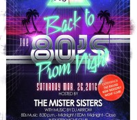 80s Prom Night – March 26th @ Industry!
