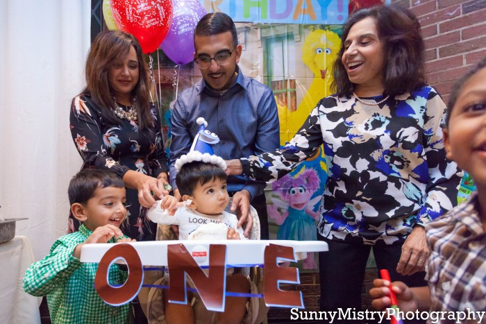 Riaan's first birthday