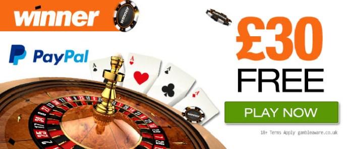 winner mobile casino 30 free no deposit