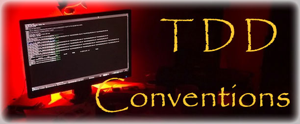 TDD Conventions Standards