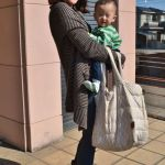 Mom Street Style: Ji-Eun's Perfect Accessory For Babywearing