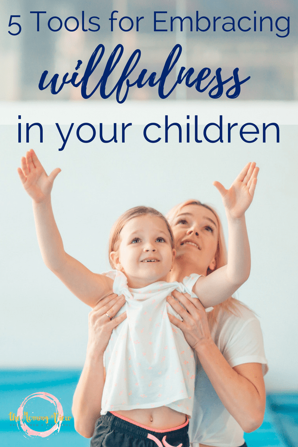 Raising a strong willed daughter can be exhausting and draining, but embracing this personality trait can teach them how to use their will advantageously. #strongwilled #positiveparenting #parentingtips #gentleparenting #persistentkids #raisingdaughters