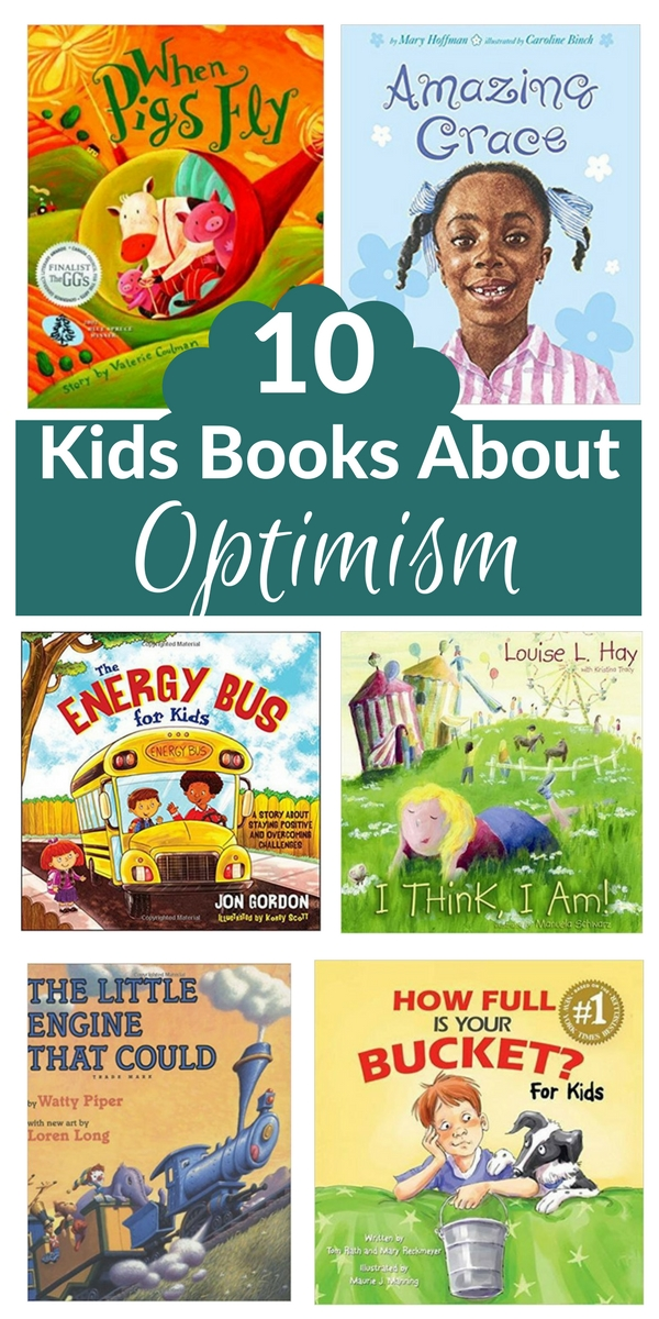 These books about optimism all talk about the power of positive thought and optimism through relatable stories. From classics like the Little Engine That Could and Alexander, to some others about overcoming challenges while staying positive