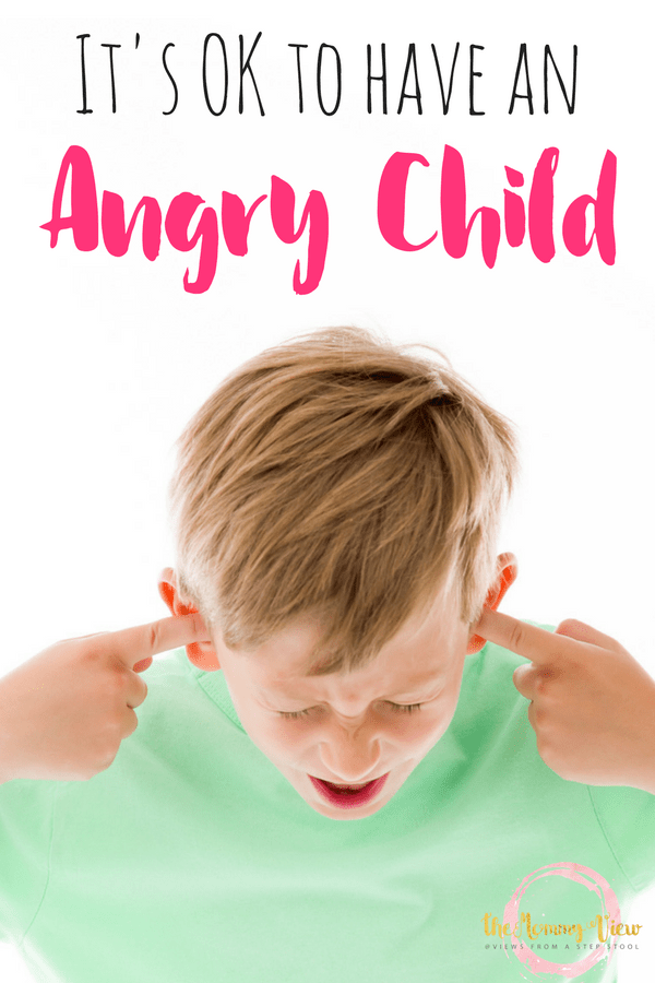 It's ok to have an angry child, experiencing anger and frustration is normal (and even healthy). It's all in understanding what to do with the anger.