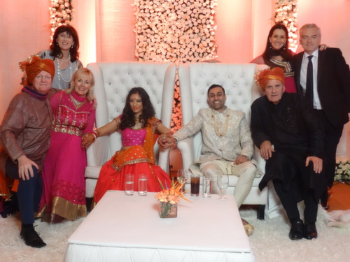 delhi fabulous with groom and bride