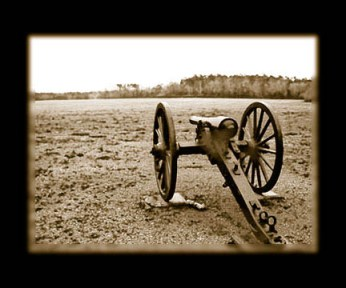 Chickamauga battlefield cannon