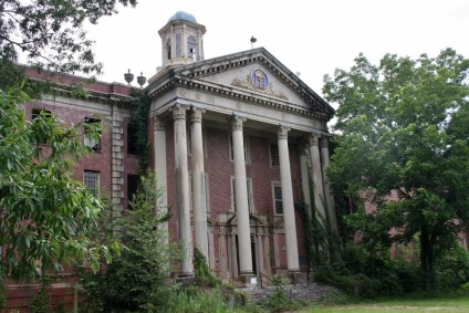 Jones Building, Central State Hospital. Milledgeville, Georgia