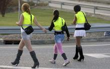 Prostitutes in El Alamus Spain must now wear neon yellow vests