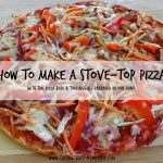 How to Make a Stove-Top Pizza