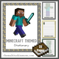 Minecraft Themed Resources