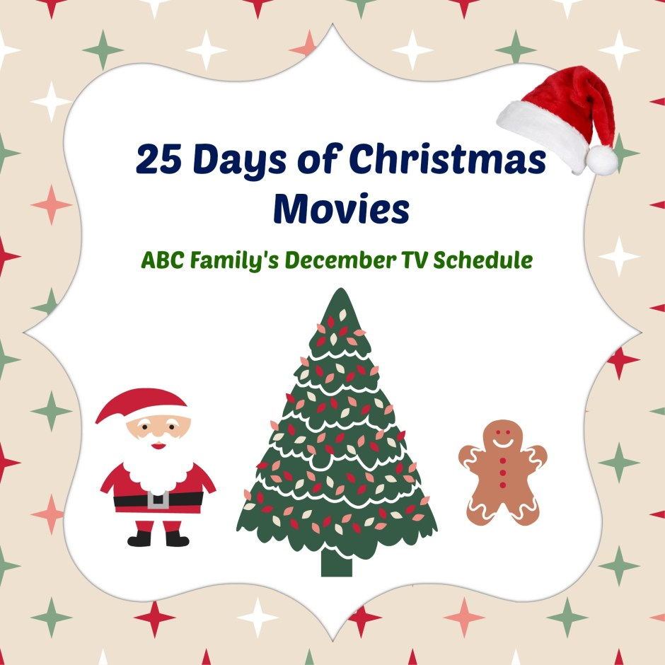Abcfamily Christmas Movie Schedule