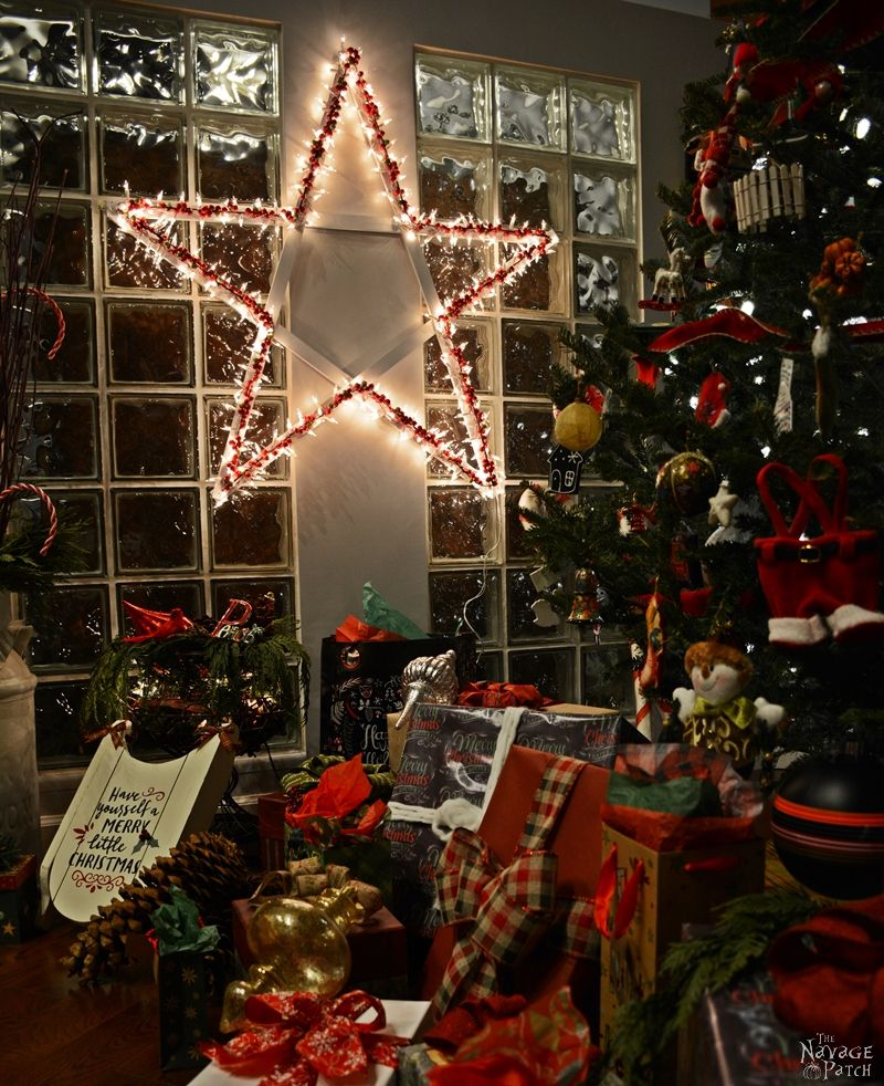DiY Lighted Christmas Stars - TheNavagePatch.com