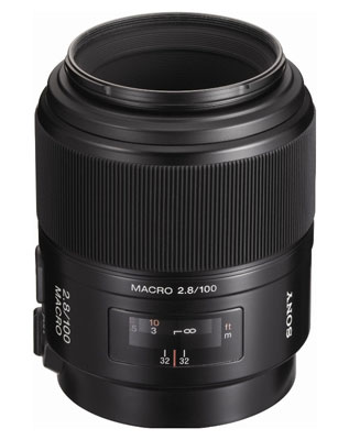 Sony 100mm Macro Lens for Sony A77