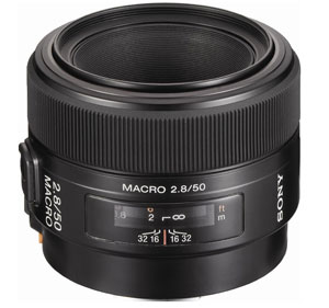 Sony 50mm Macro Lens for Sony A77