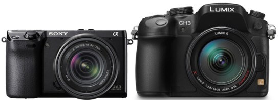 Panasonic GH3 vs NEX 7